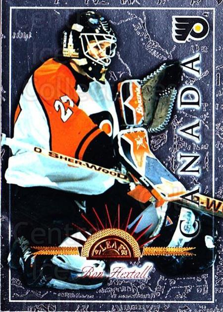 1997-98 Leaf International #52 Ron Hextall<br/>5 In Stock - $1.00 each - <a href=https://centericecollectibles.foxycart.com/cart?name=1997-98%20Leaf%20International%20%2352%20Ron%20Hextall...&quantity_max=5&price=$1.00&code=58411 class=foxycart> Buy it now! </a>