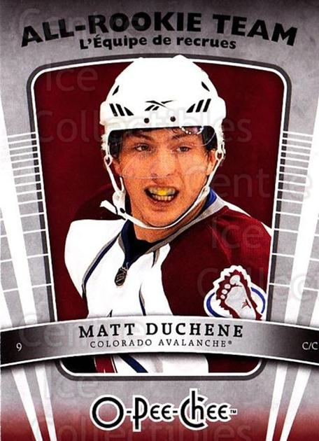 2010-11 O-Pee-Chee All Rookie Team #5 Matt Duchene<br/>2 In Stock - $3.00 each - <a href=https://centericecollectibles.foxycart.com/cart?name=2010-11%20O-Pee-Chee%20All%20Rookie%20Team%20%235%20Matt%20Duchene...&quantity_max=2&price=$3.00&code=584131 class=foxycart> Buy it now! </a>