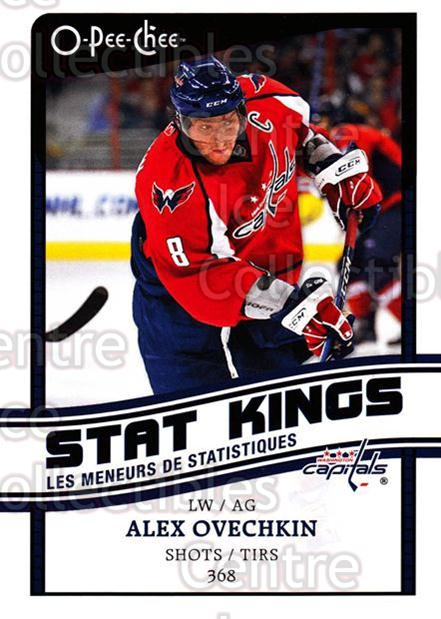2010-11 O-Pee-Chee Stat Kings #7 Alexander Ovechkin<br/>2 In Stock - $3.00 each - <a href=https://centericecollectibles.foxycart.com/cart?name=2010-11%20O-Pee-Chee%20Stat%20Kings%20%237%20Alexander%20Ovech...&price=$3.00&code=584154 class=foxycart> Buy it now! </a>