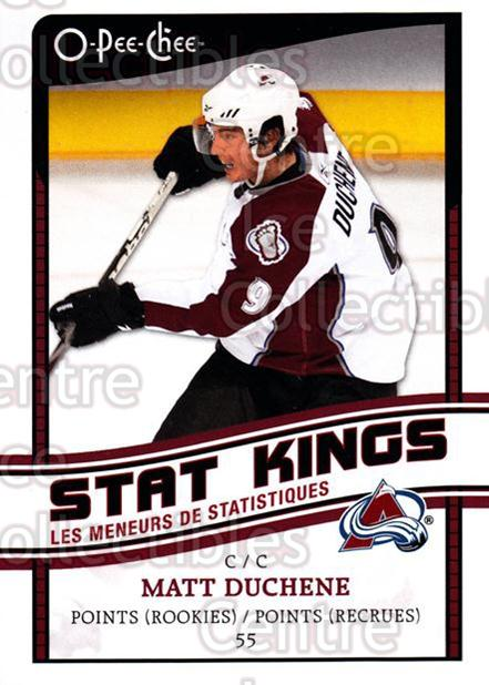 2010-11 O-Pee-Chee Stat Kings #11 Matt Duchene<br/>2 In Stock - $2.00 each - <a href=https://centericecollectibles.foxycart.com/cart?name=2010-11%20O-Pee-Chee%20Stat%20Kings%20%2311%20Matt%20Duchene...&quantity_max=2&price=$2.00&code=584158 class=foxycart> Buy it now! </a>