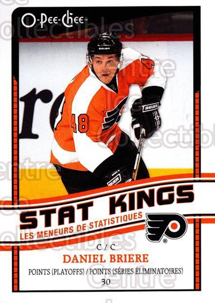 2010-11 O-Pee-Chee Stat Kings #14 Daniel Briere<br/>1 In Stock - $2.00 each - <a href=https://centericecollectibles.foxycart.com/cart?name=2010-11%20O-Pee-Chee%20Stat%20Kings%20%2314%20Daniel%20Briere...&quantity_max=1&price=$2.00&code=584161 class=foxycart> Buy it now! </a>