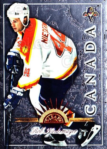 1997-98 Leaf International #58 Rob Niedermayer<br/>6 In Stock - $1.00 each - <a href=https://centericecollectibles.foxycart.com/cart?name=1997-98%20Leaf%20International%20%2358%20Rob%20Niedermayer...&quantity_max=6&price=$1.00&code=58417 class=foxycart> Buy it now! </a>