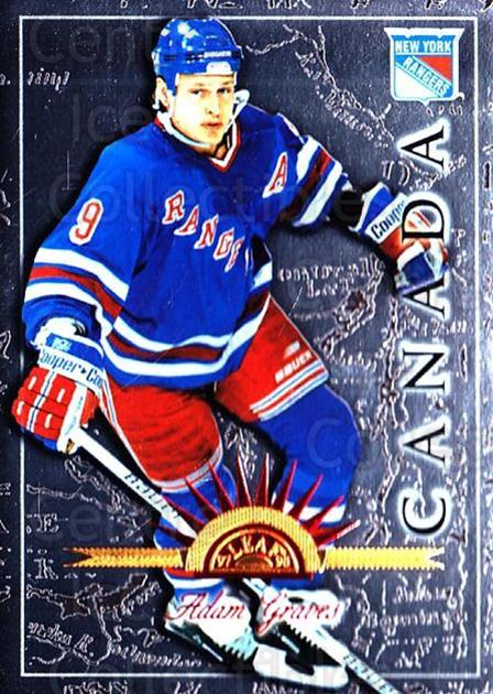 1997-98 Leaf International #89 Adam Graves<br/>6 In Stock - $1.00 each - <a href=https://centericecollectibles.foxycart.com/cart?name=1997-98%20Leaf%20International%20%2389%20Adam%20Graves...&quantity_max=6&price=$1.00&code=58449 class=foxycart> Buy it now! </a>