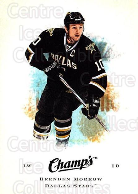 2008-09 Upper Deck Champs #11 Brenden Morrow<br/>2 In Stock - $1.00 each - <a href=https://centericecollectibles.foxycart.com/cart?name=2008-09%20Upper%20Deck%20Champs%20%2311%20Brenden%20Morrow...&quantity_max=2&price=$1.00&code=584720 class=foxycart> Buy it now! </a>