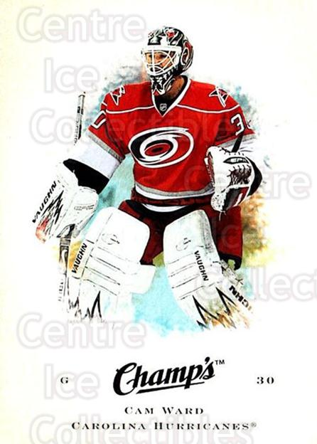 2008-09 Upper Deck Champs #14 Cam Ward<br/>1 In Stock - $1.00 each - <a href=https://centericecollectibles.foxycart.com/cart?name=2008-09%20Upper%20Deck%20Champs%20%2314%20Cam%20Ward...&price=$1.00&code=584723 class=foxycart> Buy it now! </a>