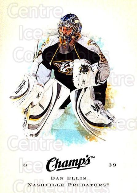 2008-09 Upper Deck Champs #21 Dan Ellis<br/>2 In Stock - $1.00 each - <a href=https://centericecollectibles.foxycart.com/cart?name=2008-09%20Upper%20Deck%20Champs%20%2321%20Dan%20Ellis...&quantity_max=2&price=$1.00&code=584730 class=foxycart> Buy it now! </a>