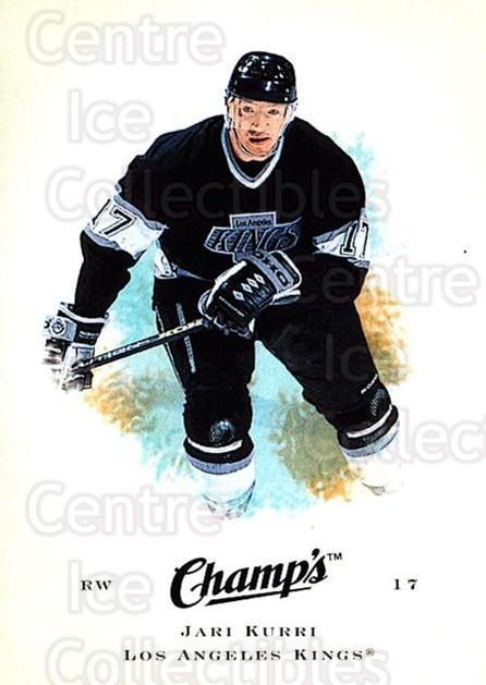 2008-09 Upper Deck Champs #37 Jari Kurri<br/>2 In Stock - $1.00 each - <a href=https://centericecollectibles.foxycart.com/cart?name=2008-09%20Upper%20Deck%20Champs%20%2337%20Jari%20Kurri...&quantity_max=2&price=$1.00&code=584746 class=foxycart> Buy it now! </a>