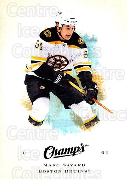 2008-09 Upper Deck Champs #49 Marc Savard<br/>3 In Stock - $1.00 each - <a href=https://centericecollectibles.foxycart.com/cart?name=2008-09%20Upper%20Deck%20Champs%20%2349%20Marc%20Savard...&quantity_max=3&price=$1.00&code=584758 class=foxycart> Buy it now! </a>
