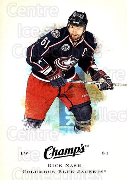 2008-09 Upper Deck Champs #81 Rick Nash<br/>2 In Stock - $1.00 each - <a href=https://centericecollectibles.foxycart.com/cart?name=2008-09%20Upper%20Deck%20Champs%20%2381%20Rick%20Nash...&quantity_max=2&price=$1.00&code=584790 class=foxycart> Buy it now! </a>