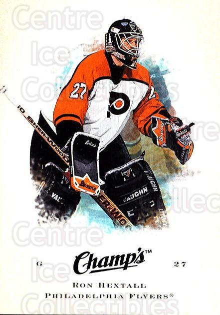 2008-09 Upper Deck Champs #84 Ron Hextall<br/>1 In Stock - $1.00 each - <a href=https://centericecollectibles.foxycart.com/cart?name=2008-09%20Upper%20Deck%20Champs%20%2384%20Ron%20Hextall...&quantity_max=1&price=$1.00&code=584793 class=foxycart> Buy it now! </a>