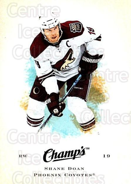 2008-09 Upper Deck Champs #89 Shane Doan<br/>3 In Stock - $1.00 each - <a href=https://centericecollectibles.foxycart.com/cart?name=2008-09%20Upper%20Deck%20Champs%20%2389%20Shane%20Doan...&quantity_max=3&price=$1.00&code=584798 class=foxycart> Buy it now! </a>