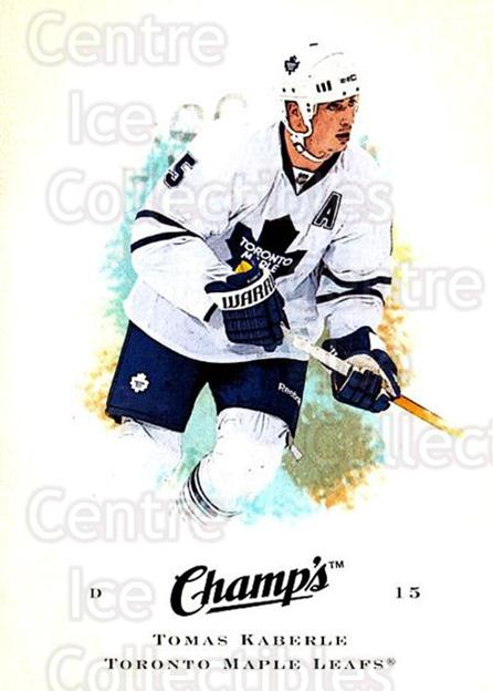 2008-09 Upper Deck Champs #94 Tomas Kaberle<br/>3 In Stock - $1.00 each - <a href=https://centericecollectibles.foxycart.com/cart?name=2008-09%20Upper%20Deck%20Champs%20%2394%20Tomas%20Kaberle...&quantity_max=3&price=$1.00&code=584803 class=foxycart> Buy it now! </a>