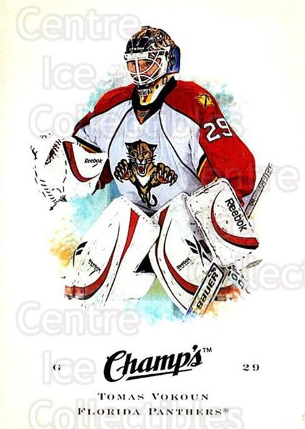 2008-09 Upper Deck Champs #95 Tomas Vokoun<br/>2 In Stock - $1.00 each - <a href=https://centericecollectibles.foxycart.com/cart?name=2008-09%20Upper%20Deck%20Champs%20%2395%20Tomas%20Vokoun...&quantity_max=2&price=$1.00&code=584804 class=foxycart> Buy it now! </a>