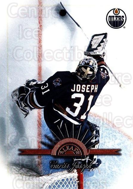 1997-98 Leaf #16 Curtis Joseph<br/>4 In Stock - $1.00 each - <a href=https://centericecollectibles.foxycart.com/cart?name=1997-98%20Leaf%20%2316%20Curtis%20Joseph...&quantity_max=4&price=$1.00&code=58533 class=foxycart> Buy it now! </a>