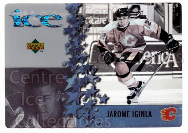 1997-98 McDonalds Upper Deck #12 Jarome Iginla<br/>9 In Stock - $1.00 each - <a href=https://centericecollectibles.foxycart.com/cart?name=1997-98%20McDonalds%20Upper%20Deck%20%2312%20Jarome%20Iginla...&quantity_max=9&price=$1.00&code=58631 class=foxycart> Buy it now! </a>