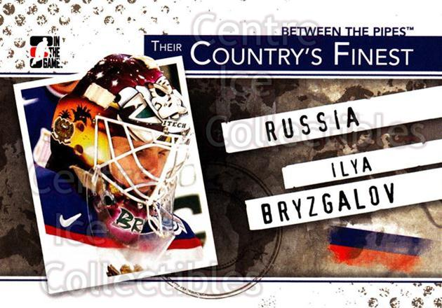 2010-11 Between The Pipes Their Countrys Finest #5 Ilya Bryzgalov<br/>4 In Stock - $3.00 each - <a href=https://centericecollectibles.foxycart.com/cart?name=2010-11%20Between%20The%20Pipes%20Their%20Countrys%20Finest%20%235%20Ilya%20Bryzgalov...&quantity_max=4&price=$3.00&code=586341 class=foxycart> Buy it now! </a>