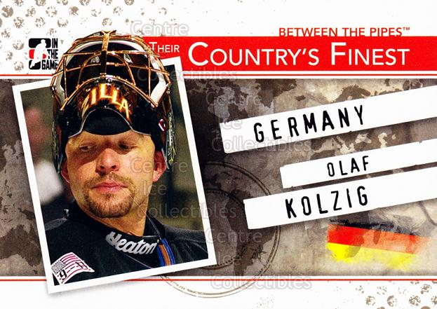 2010-11 Between The Pipes Their Countrys Finest #9 Olaf Kolzig<br/>2 In Stock - $3.00 each - <a href=https://centericecollectibles.foxycart.com/cart?name=2010-11%20Between%20The%20Pipes%20Their%20Countrys%20Finest%20%239%20Olaf%20Kolzig...&quantity_max=2&price=$3.00&code=586345 class=foxycart> Buy it now! </a>