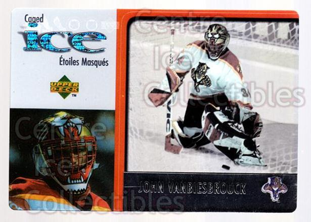 1997-98 McDonalds Upper Deck #24 John Vanbiesbrouck<br/>10 In Stock - $1.00 each - <a href=https://centericecollectibles.foxycart.com/cart?name=1997-98%20McDonalds%20Upper%20Deck%20%2324%20John%20Vanbiesbro...&quantity_max=10&price=$1.00&code=58643 class=foxycart> Buy it now! </a>