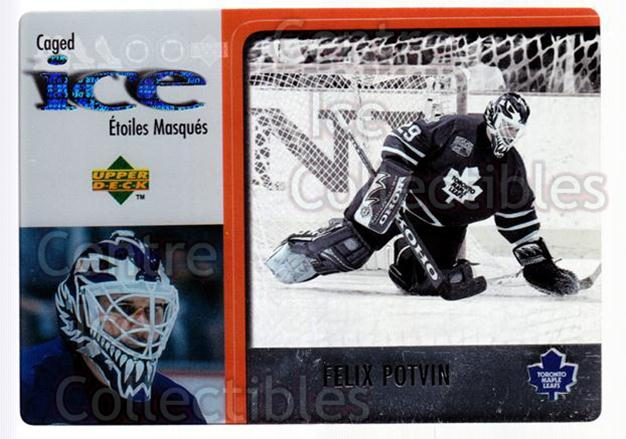 1997-98 McDonalds Upper Deck #31 Felix Potvin<br/>8 In Stock - $1.00 each - <a href=https://centericecollectibles.foxycart.com/cart?name=1997-98%20McDonalds%20Upper%20Deck%20%2331%20Felix%20Potvin...&quantity_max=8&price=$1.00&code=58650 class=foxycart> Buy it now! </a>
