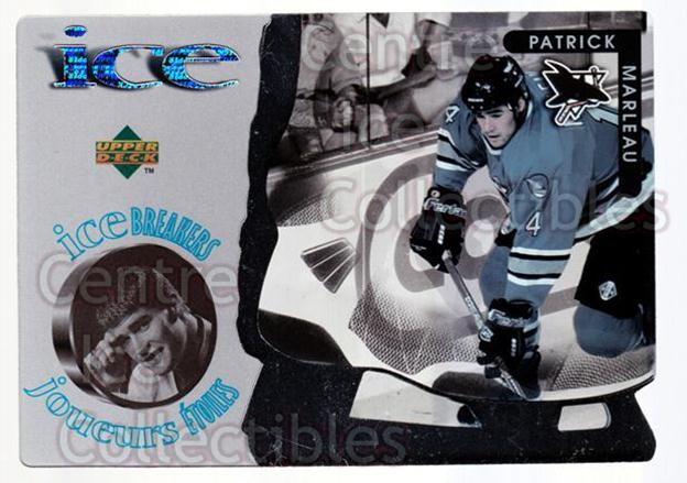 1997-98 McDonalds Upper Deck #34 Patrick Marleau<br/>4 In Stock - $1.00 each - <a href=https://centericecollectibles.foxycart.com/cart?name=1997-98%20McDonalds%20Upper%20Deck%20%2334%20Patrick%20Marleau...&quantity_max=4&price=$1.00&code=58653 class=foxycart> Buy it now! </a>