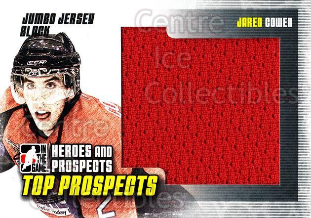 2009-10 ITG Heroes and Prospects Top Prospects Jersey Black #14 Jared Cowen<br/>1 In Stock - $5.00 each - <a href=https://centericecollectibles.foxycart.com/cart?name=2009-10%20ITG%20Heroes%20and%20Prospects%20Top%20Prospects%20Jersey%20Black%20%2314%20Jared%20Cowen...&quantity_max=1&price=$5.00&code=587041 class=foxycart> Buy it now! </a>
