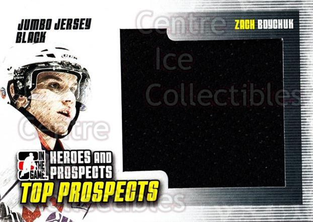 2009-10 ITG Heroes and Prospects Top Prospects Jersey Black #35 Zach Boychuk<br/>1 In Stock - $5.00 each - <a href=https://centericecollectibles.foxycart.com/cart?name=2009-10%20ITG%20Heroes%20and%20Prospects%20Top%20Prospects%20Jersey%20Black%20%2335%20Zach%20Boychuk...&quantity_max=1&price=$5.00&code=587061 class=foxycart> Buy it now! </a>