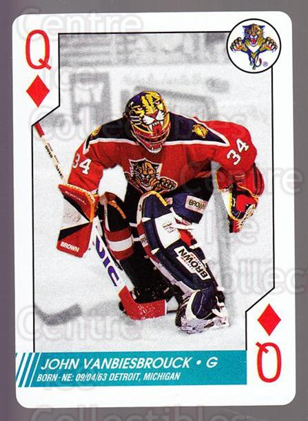 1997-98 NHL Aces Playing Card #51 John Vanbiesbrouck<br/>1 In Stock - $2.00 each - <a href=https://centericecollectibles.foxycart.com/cart?name=1997-98%20NHL%20Aces%20Playing%20Card%20%2351%20John%20Vanbiesbro...&quantity_max=1&price=$2.00&code=58706 class=foxycart> Buy it now! </a>