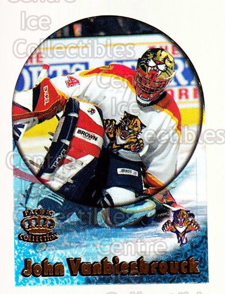 1997-98 Pacific Supials Mini #9 John Vanbiesbrouck<br/>7 In Stock - $3.00 each - <a href=https://centericecollectibles.foxycart.com/cart?name=1997-98%20Pacific%20Supials%20Mini%20%239%20John%20Vanbiesbro...&quantity_max=7&price=$3.00&code=58716 class=foxycart> Buy it now! </a>