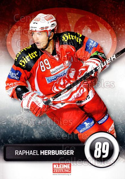 2011-12 Austrian EC Kac Postcards #5 Raphael Herburger<br/>1 In Stock - $3.00 each - <a href=https://centericecollectibles.foxycart.com/cart?name=2011-12%20Austrian%20EC%20Kac%20Postcards%20%235%20Raphael%20Herburg...&quantity_max=1&price=$3.00&code=587170 class=foxycart> Buy it now! </a>