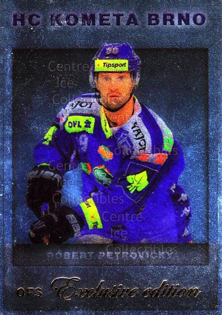 2012-13 Czech OFS Exclusive Gold #67 Rebert Petrovicky<br/>1 In Stock - $5.00 each - <a href=https://centericecollectibles.foxycart.com/cart?name=2012-13%20Czech%20OFS%20Exclusive%20Gold%20%2367%20Rebert%20Petrovic...&price=$5.00&code=587252 class=foxycart> Buy it now! </a>