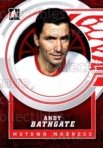 2012-13 ITG Motown Madness Red #7 Andy Bathgate<br/>3 In Stock - $3.00 each - <a href=https://centericecollectibles.foxycart.com/cart?name=2012-13%20ITG%20Motown%20Madness%20Red%20%237%20Andy%20Bathgate...&quantity_max=3&price=$3.00&code=587627 class=foxycart> Buy it now! </a>