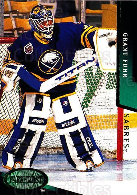 1993-94 Parkhurst Emerald #22 Grant Fuhr<br/>5 In Stock - $2.00 each - <a href=https://centericecollectibles.foxycart.com/cart?name=1993-94%20Parkhurst%20Emerald%20%2322%20Grant%20Fuhr...&quantity_max=5&price=$2.00&code=5878 class=foxycart> Buy it now! </a>