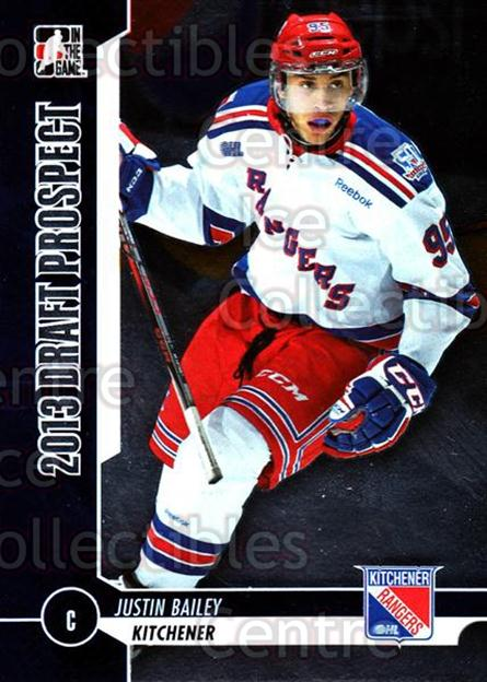 2012-13 ITG Draft Prospects #23 Justin Bailey<br/>2 In Stock - $2.00 each - <a href=https://centericecollectibles.foxycart.com/cart?name=2012-13%20ITG%20Draft%20Prospects%20%2323%20Justin%20Bailey...&price=$2.00&code=588420 class=foxycart> Buy it now! </a>