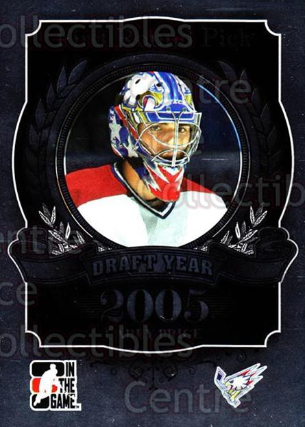 2012-13 ITG Draft Prospects #95 Carey Price<br/>1 In Stock - $5.00 each - <a href=https://centericecollectibles.foxycart.com/cart?name=2012-13%20ITG%20Draft%20Prospects%20%2395%20Carey%20Price...&quantity_max=1&price=$5.00&code=588492 class=foxycart> Buy it now! </a>
