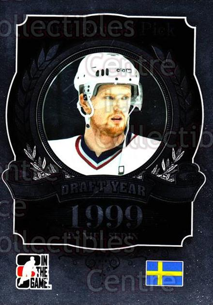 2012-13 ITG Draft Prospects #98 Daniel Sedin<br/>2 In Stock - $2.00 each - <a href=https://centericecollectibles.foxycart.com/cart?name=2012-13%20ITG%20Draft%20Prospects%20%2398%20Daniel%20Sedin...&price=$2.00&code=588495 class=foxycart> Buy it now! </a>