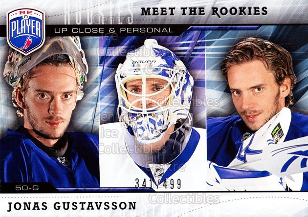 2009-10 Be A Player Meet the Rookies #6 Jonas Gustavsson<br/>1 In Stock - $5.00 each - <a href=https://centericecollectibles.foxycart.com/cart?name=2009-10%20Be%20A%20Player%20Meet%20the%20Rookies%20%236%20Jonas%20Gustavsso...&quantity_max=1&price=$5.00&code=588561 class=foxycart> Buy it now! </a>