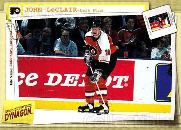 1997-98 Dynagon Best Kept Secrets #71 John LeClair<br/>5 In Stock - $1.00 each - <a href=https://centericecollectibles.foxycart.com/cart?name=1997-98%20Dynagon%20Best%20Kept%20Secrets%20%2371%20John%20LeClair...&quantity_max=5&price=$1.00&code=58938 class=foxycart> Buy it now! </a>