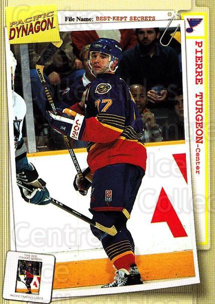 1997-98 Dynagon Best Kept Secrets #83 Pierre Turgeon<br/>5 In Stock - $1.00 each - <a href=https://centericecollectibles.foxycart.com/cart?name=1997-98%20Dynagon%20Best%20Kept%20Secrets%20%2383%20Pierre%20Turgeon...&quantity_max=5&price=$1.00&code=58949 class=foxycart> Buy it now! </a>
