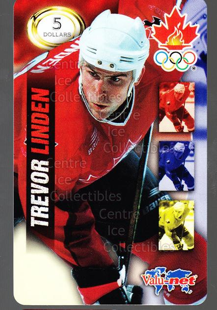 1998 Team Canada Olympic Valu-Net Phone Cards #13 Trevor Linden<br/>2 In Stock - $5.00 each - <a href=https://centericecollectibles.foxycart.com/cart?name=1998%20Team%20Canada%20Olympic%20Valu-Net%20Phone%20Cards%20%2313%20Trevor%20Linden...&quantity_max=2&price=$5.00&code=589737 class=foxycart> Buy it now! </a>