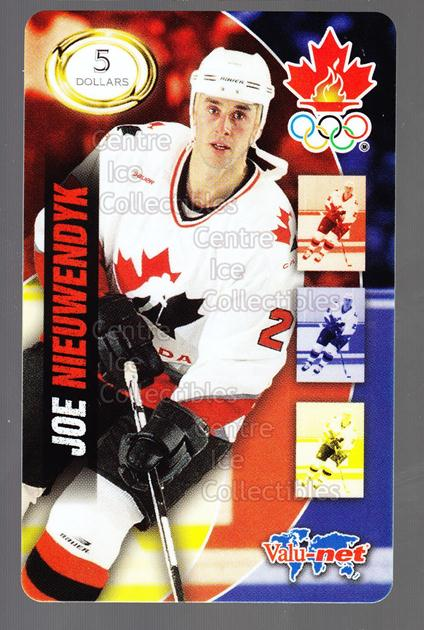 1998 Team Canada Olympic Valu-Net Phone Cards #16 Joe Nieuwendyk<br/>5 In Stock - $5.00 each - <a href=https://centericecollectibles.foxycart.com/cart?name=1998%20Team%20Canada%20Olympic%20Valu-Net%20Phone%20Cards%20%2316%20Joe%20Nieuwendyk...&quantity_max=5&price=$5.00&code=589740 class=foxycart> Buy it now! </a>