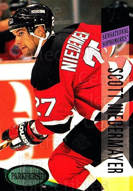 1993-94 Parkhurst Emerald #240 Scott Niedermayer<br/>4 In Stock - $2.00 each - <a href=https://centericecollectibles.foxycart.com/cart?name=1993-94%20Parkhurst%20Emerald%20%23240%20Scott%20Niedermay...&quantity_max=4&price=$2.00&code=5897 class=foxycart> Buy it now! </a>