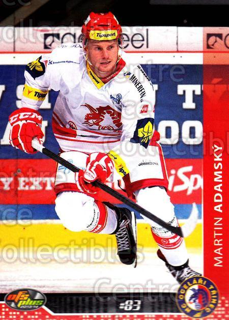2013-14 Czech OFS #116 Martin Adamsky<br/>3 In Stock - $2.00 each - <a href=https://centericecollectibles.foxycart.com/cart?name=2013-14%20Czech%20OFS%20%23116%20Martin%20Adamsky...&quantity_max=3&price=$2.00&code=590337 class=foxycart> Buy it now! </a>