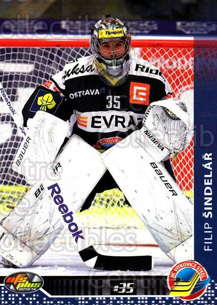 2013-14 Czech OFS #128 Filip Sindelar<br/>1 In Stock - $2.00 each - <a href=https://centericecollectibles.foxycart.com/cart?name=2013-14%20Czech%20OFS%20%23128%20Filip%20Sindelar...&quantity_max=1&price=$2.00&code=590349 class=foxycart> Buy it now! </a>