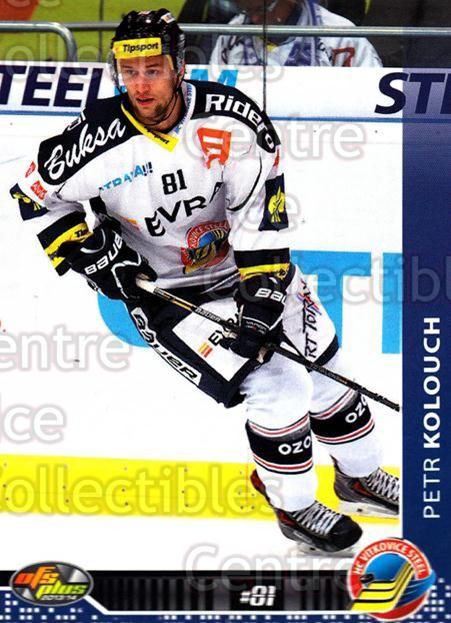 2013-14 Czech OFS #141 Petr Kolouch<br/>4 In Stock - $2.00 each - <a href=https://centericecollectibles.foxycart.com/cart?name=2013-14%20Czech%20OFS%20%23141%20Petr%20Kolouch...&quantity_max=4&price=$2.00&code=590362 class=foxycart> Buy it now! </a>