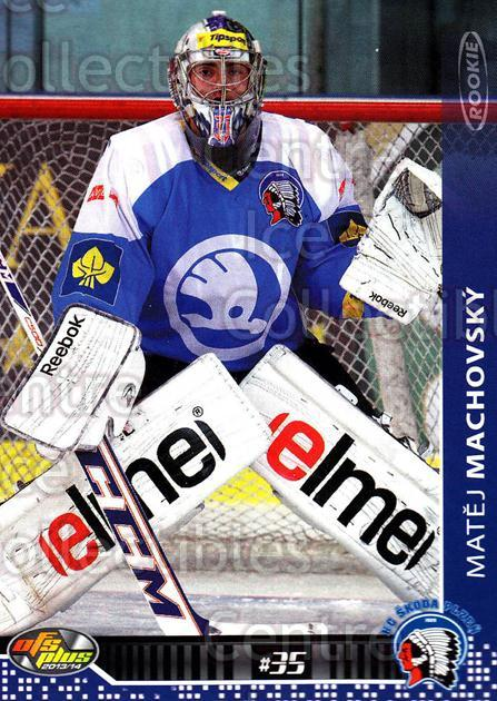 2013-14 Czech OFS #188 Matej Machovsky<br/>3 In Stock - $2.00 each - <a href=https://centericecollectibles.foxycart.com/cart?name=2013-14%20Czech%20OFS%20%23188%20Matej%20Machovsky...&quantity_max=3&price=$2.00&code=590409 class=foxycart> Buy it now! </a>