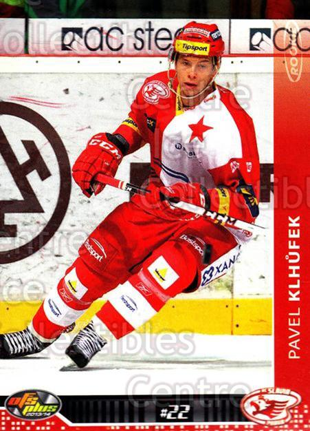 2013-14 Czech OFS #259 Pavel Klhufek<br/>3 In Stock - $2.00 each - <a href=https://centericecollectibles.foxycart.com/cart?name=2013-14%20Czech%20OFS%20%23259%20Pavel%20Klhufek...&quantity_max=3&price=$2.00&code=590480 class=foxycart> Buy it now! </a>