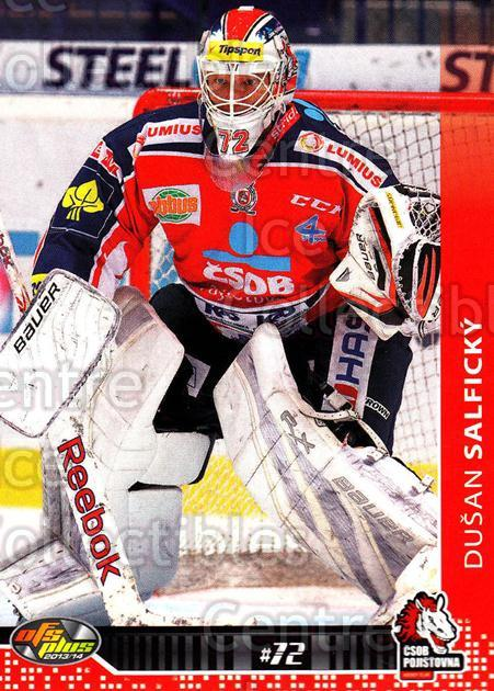 2013-14 Czech OFS #291 Dusan Salficky<br/>1 In Stock - $2.00 each - <a href=https://centericecollectibles.foxycart.com/cart?name=2013-14%20Czech%20OFS%20%23291%20Dusan%20Salficky...&quantity_max=1&price=$2.00&code=590512 class=foxycart> Buy it now! </a>
