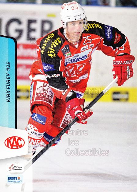 2013-14 Erste Bank Eishockey Liga EBEL #2 Kirk Furey<br/>4 In Stock - $2.00 each - <a href=https://centericecollectibles.foxycart.com/cart?name=2013-14%20Erste%20Bank%20Eishockey%20Liga%20EBEL%20%232%20Kirk%20Furey...&quantity_max=4&price=$2.00&code=590569 class=foxycart> Buy it now! </a>