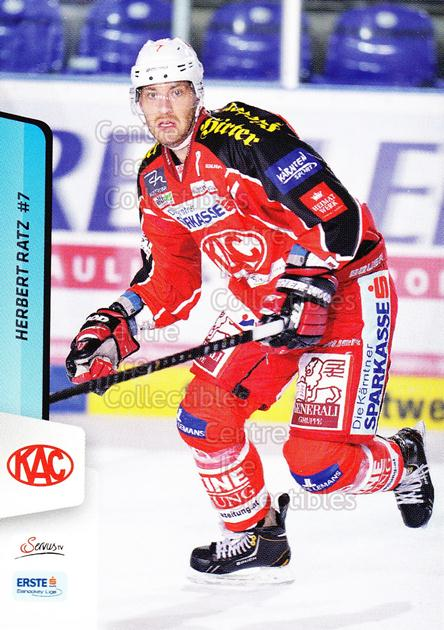 2013-14 Erste Bank Eishockey Liga EBEL #3 Herbert Ratz<br/>5 In Stock - $2.00 each - <a href=https://centericecollectibles.foxycart.com/cart?name=2013-14%20Erste%20Bank%20Eishockey%20Liga%20EBEL%20%233%20Herbert%20Ratz...&quantity_max=5&price=$2.00&code=590570 class=foxycart> Buy it now! </a>