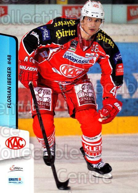 2013-14 Erste Bank Eishockey Liga EBEL #5 Florian Iberer<br/>5 In Stock - $2.00 each - <a href=https://centericecollectibles.foxycart.com/cart?name=2013-14%20Erste%20Bank%20Eishockey%20Liga%20EBEL%20%235%20Florian%20Iberer...&quantity_max=5&price=$2.00&code=590572 class=foxycart> Buy it now! </a>
